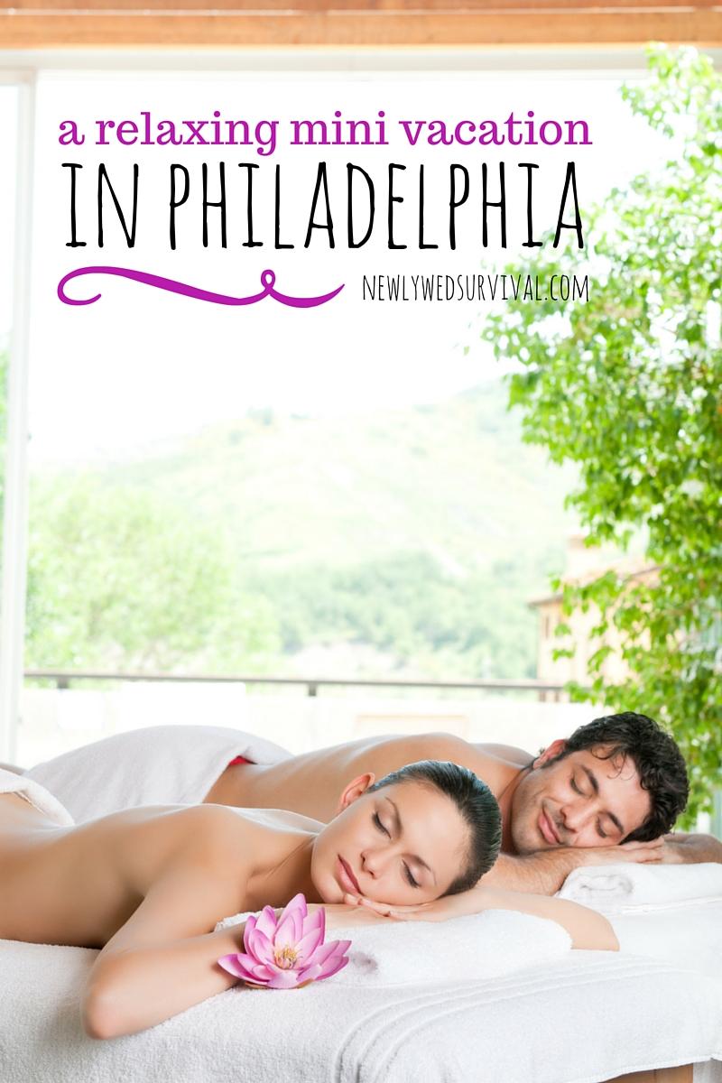 Backyard Tourist - a relaxing mini vacation in Philadelphia #rittenhousespa