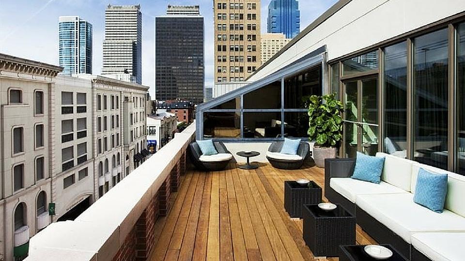 The Rittenhouse Spa & Club sundeck #rittenhousespa