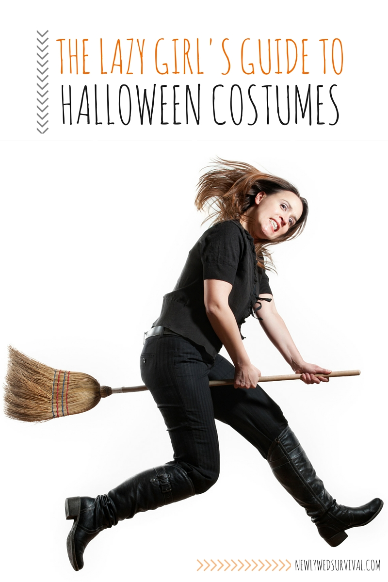 These ideas are perfect for me (the lazy girl)!! Easy Adult Halloween Costume Ideas for Women