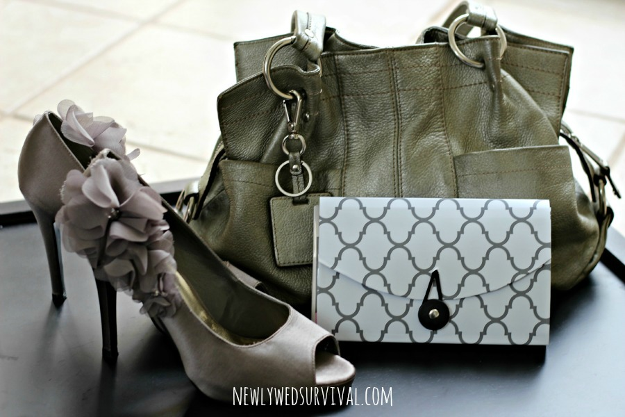 DIY purse organizer - date night essentials #BeHealthyForEveryPartofLife