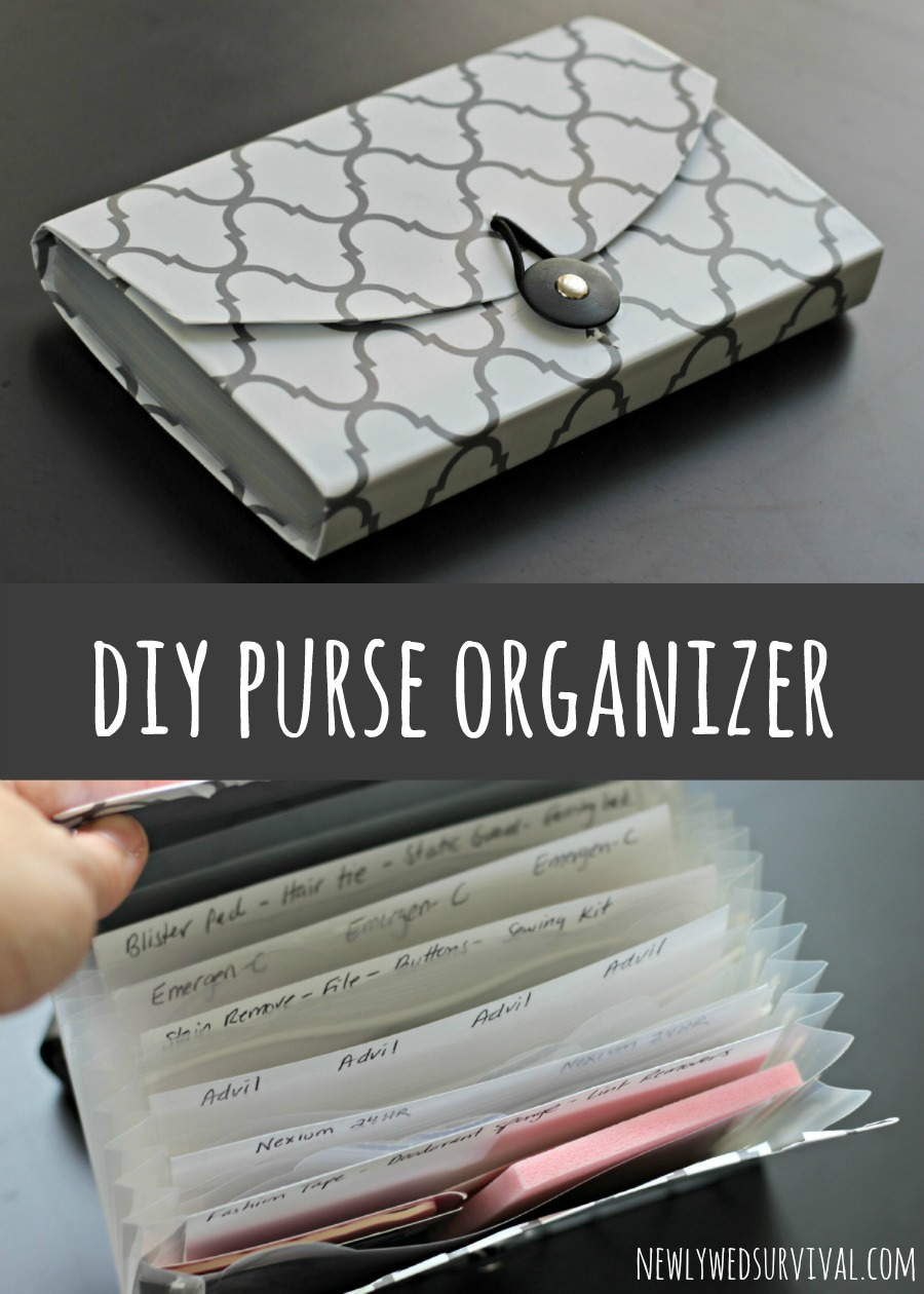 DIY purse organizer for date night essentials #BeHealthyForEveryPartofLife