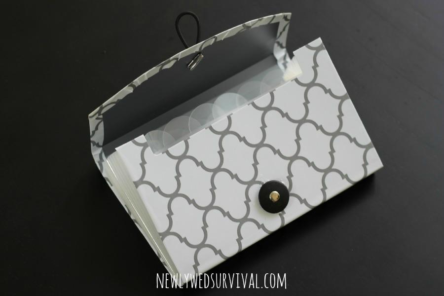 DIY purse organizer step six #BeHealthyForEveryPartofLife