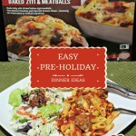 Easy pre-holiday dinner ideas featuring Michael Angelo's