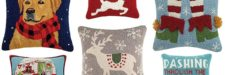 30+ Holiday Pillows Perfect for the Winter Season