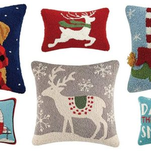Fun holiday pillows for your winter decor