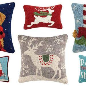Fun holiday pillows for your winter decor