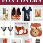 Fox-lover gift ideas