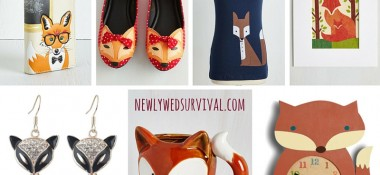 Fox-lover gift ideas