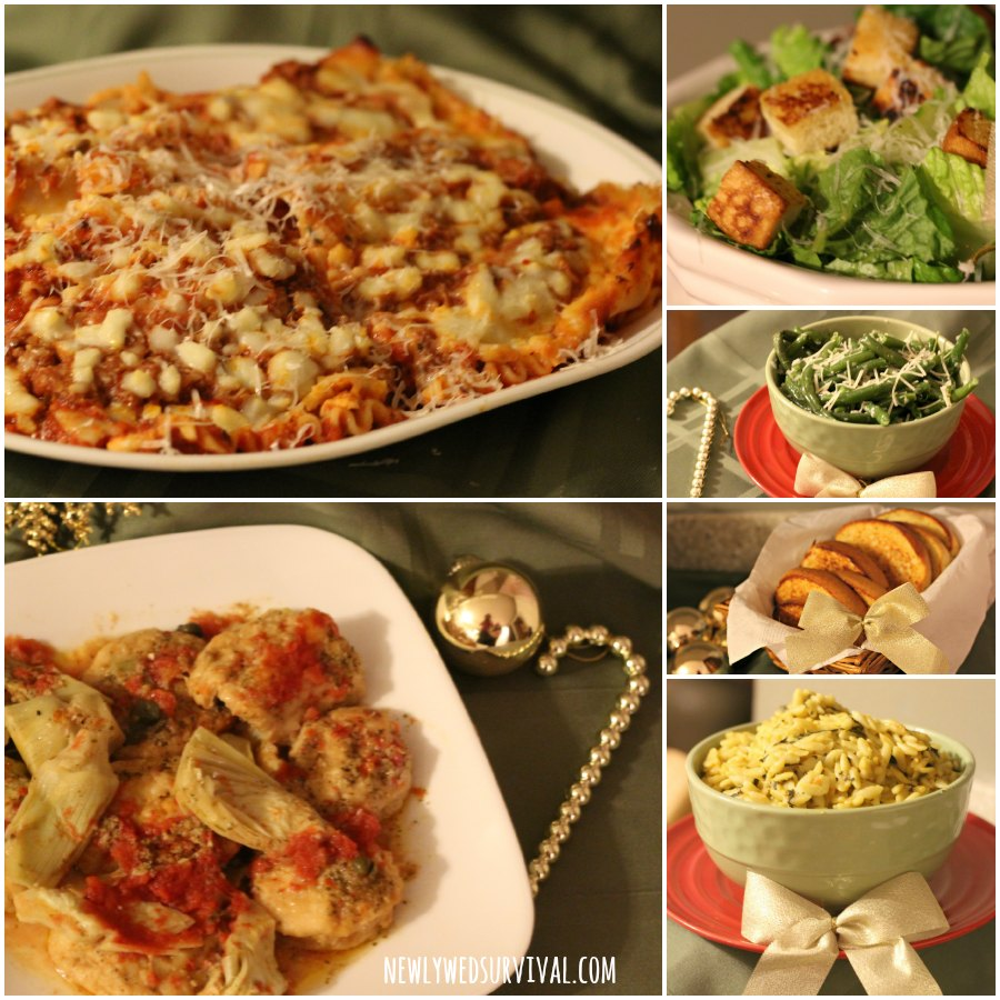 Easy Italian Dinner Party Menu Ideas