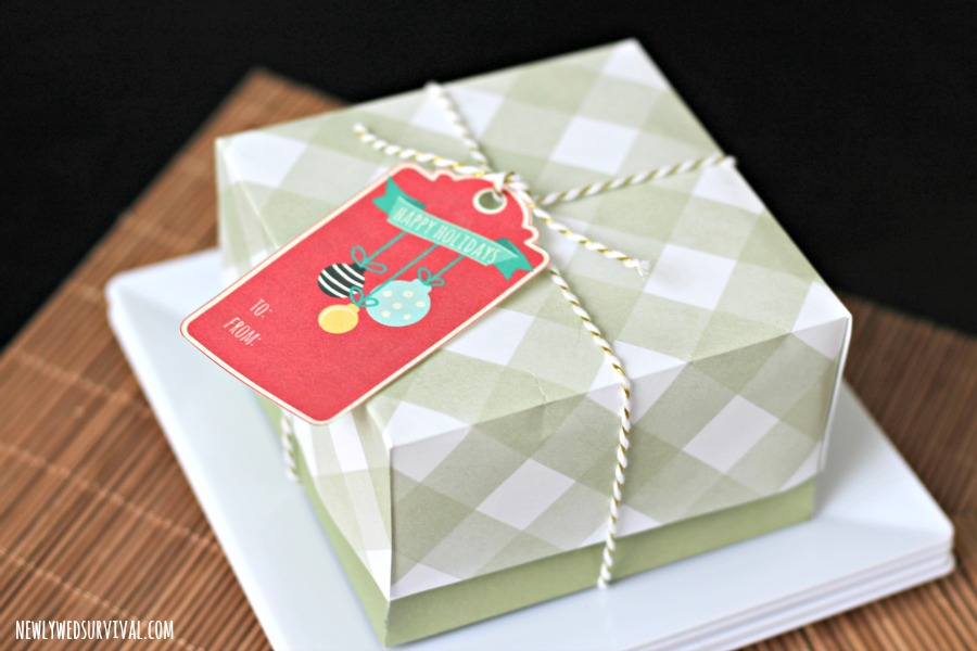 Gift boxes for leftover pie brownies #ShareTheJoyOfPie