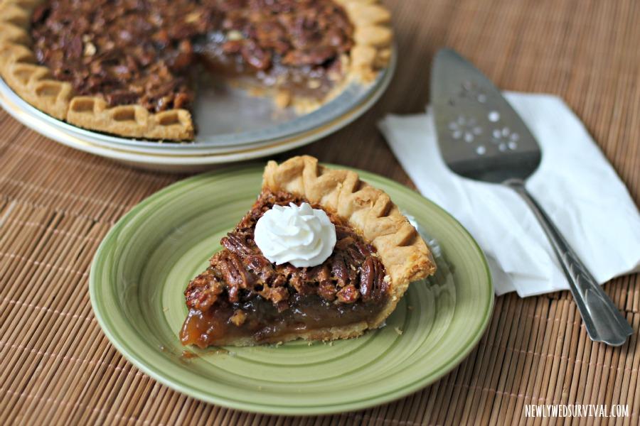 Marie Callender's pecan pie with Reddi-Wip #ShareTheJoyOfPie