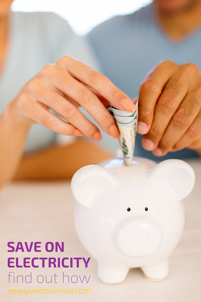 5 easy ways to save on electricity this year #LiveBrighter