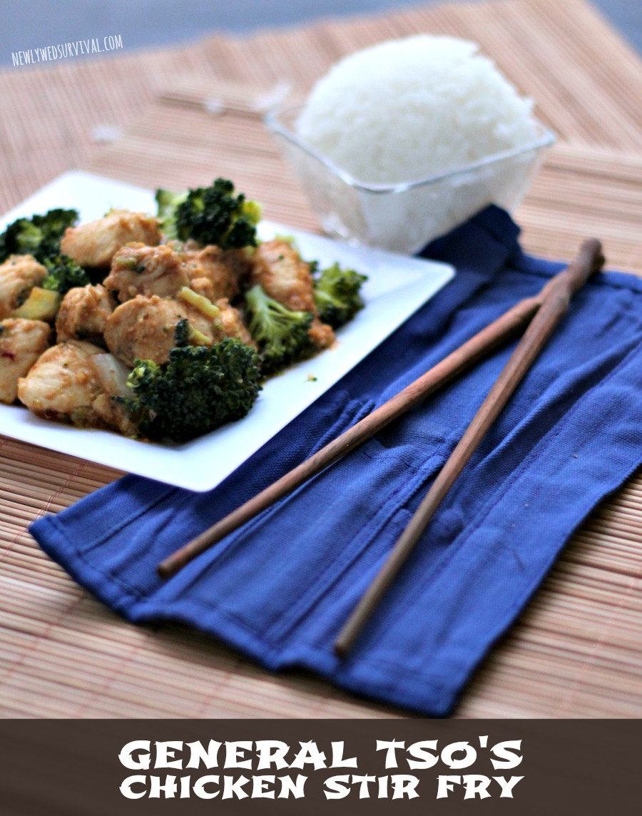 Easy General Tso's Chicken Recipe - at home! #EastMadeEasy with Blue Dragon