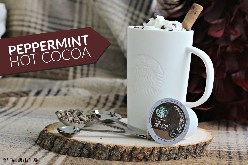 Easy peppermint hot cocoa recipe