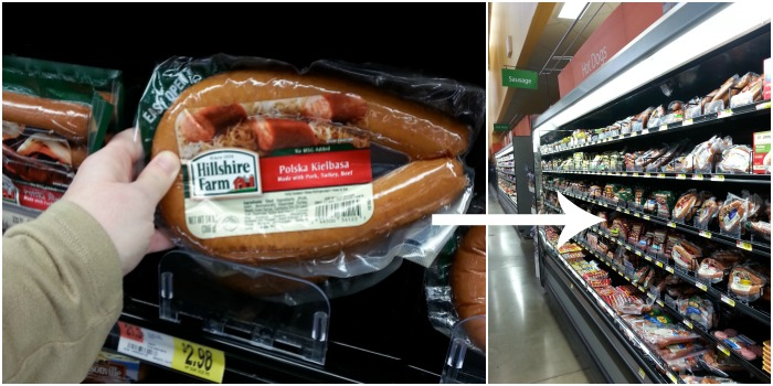 Hillshire Farm Polska Kielbasa at Walmart #DeliciousDinners
