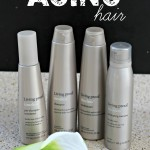 Combat the signs of aging hair #AgeWisely