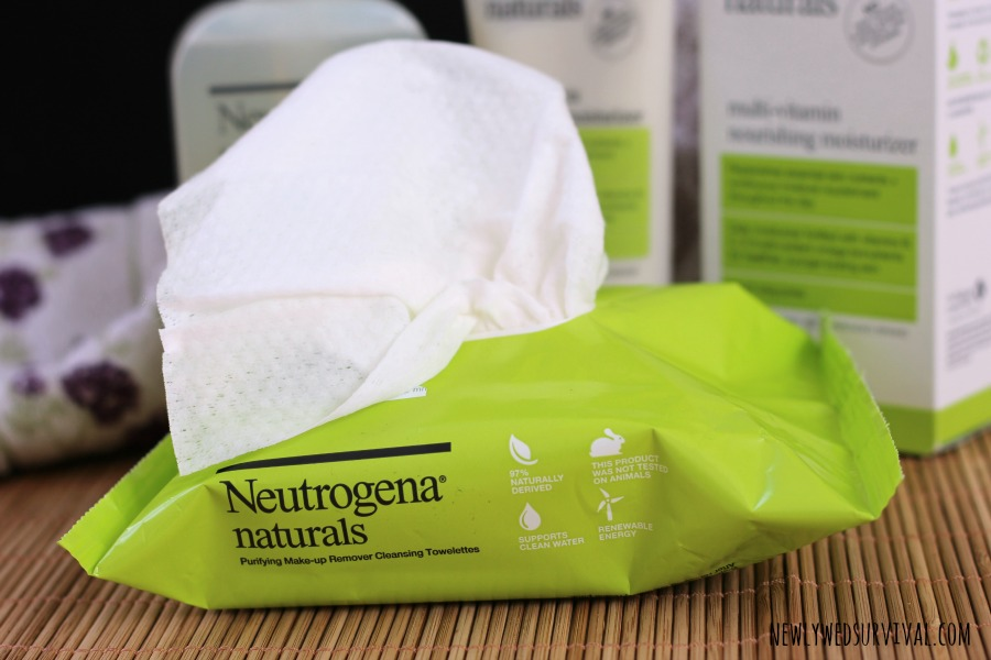 Neutrogena Naturals towelettes are part of my natural skin care routine! #NeutrogenaNaturals