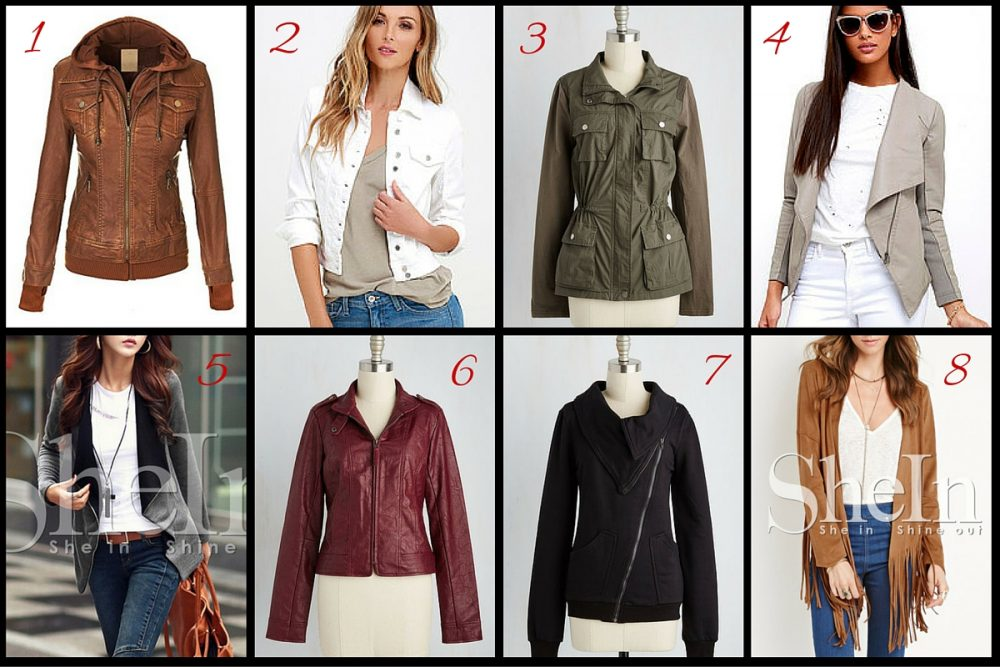 Short spring jackets for women