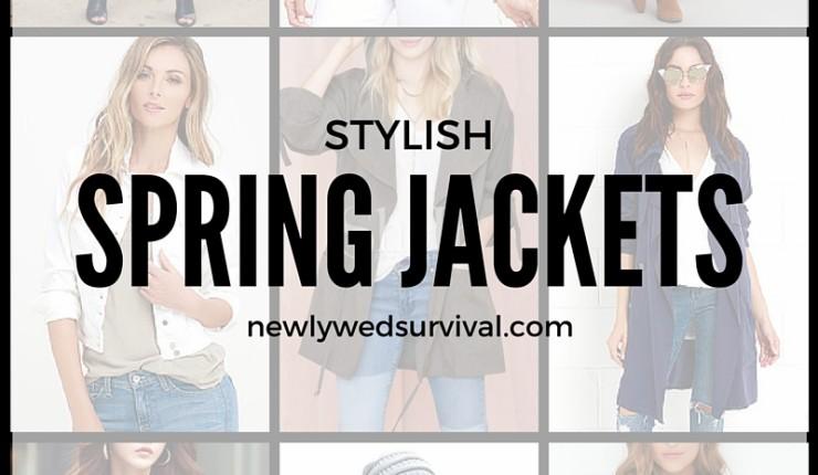 17 Stylish Spring Jackets for Women