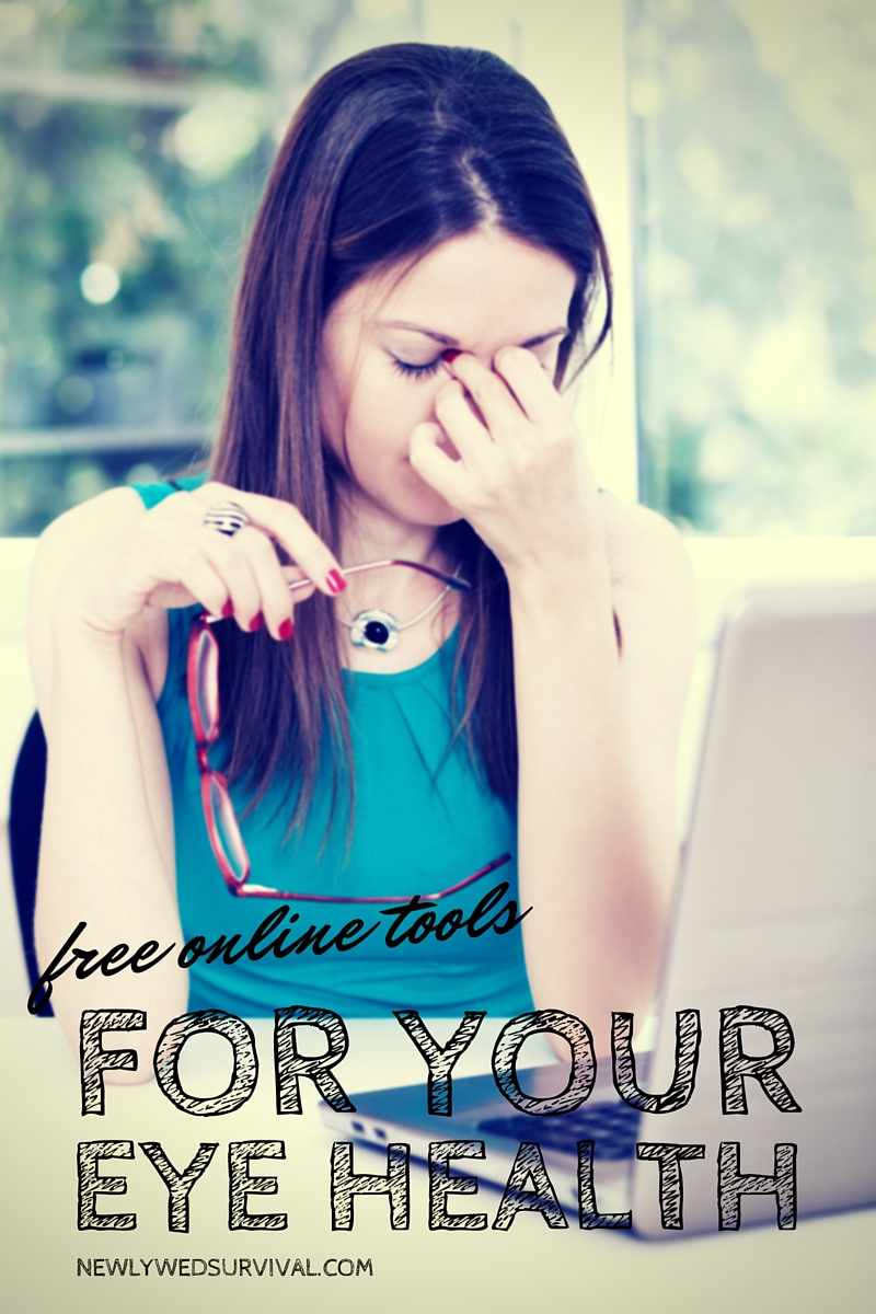 Online tools for your eye health #ThinkAboutYourEyes