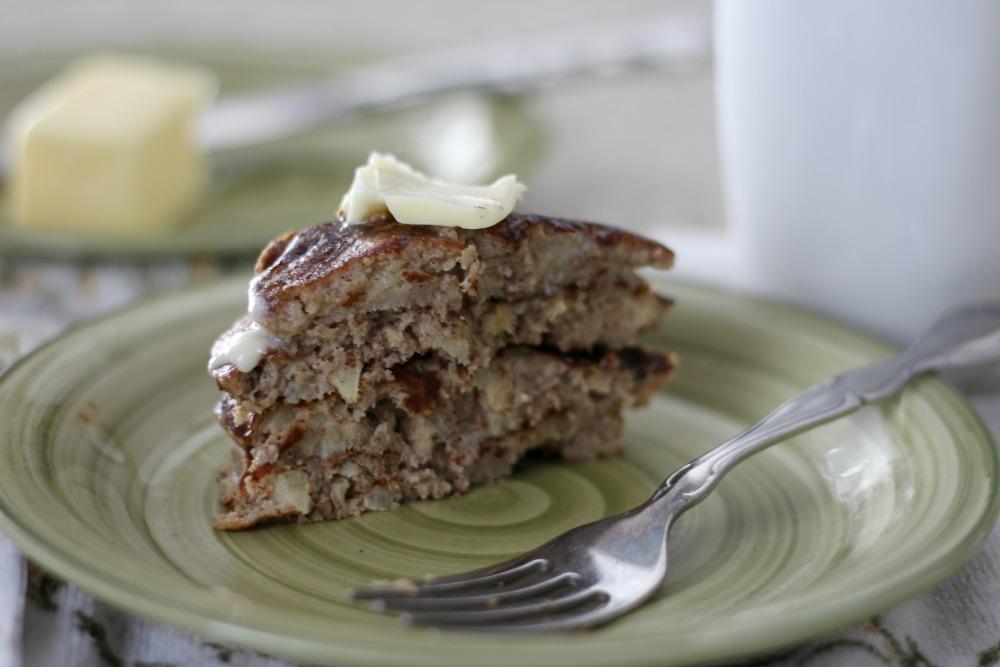 Gluten-Free Apple Cinnamon Pancakes