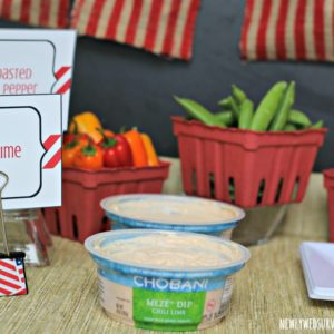 Easy DIY Food Label Holders + Last Minute Party Tips