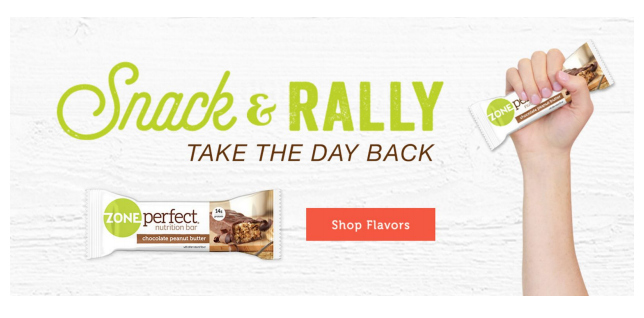 Save $4 on ZonePerfect® Bars at Walmart