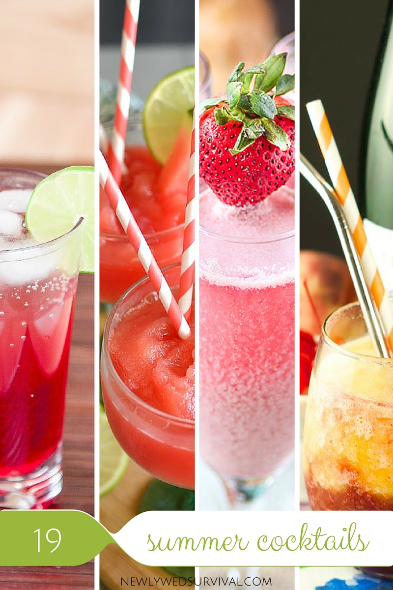19 Cocktails to add to your summer list!