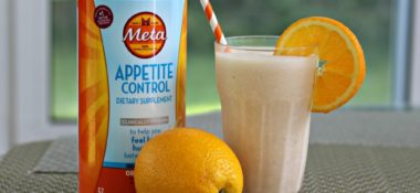 Orange Creamsicle Smoothie with Meta Appetite Control