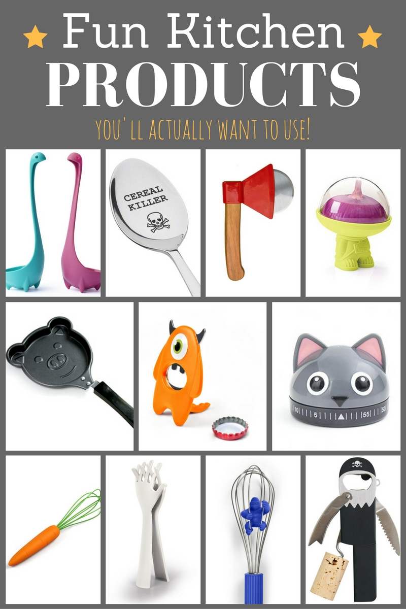 22 Fun Kitchen Products