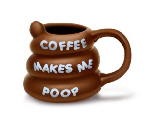 Coffee makes me poop