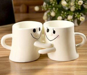 Happy Hug Coffee Mugs