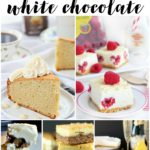 Recipes made with white chocolate