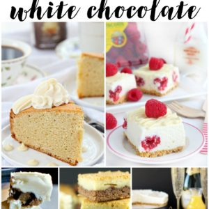 15 Recipes for White Chocolate Lovers