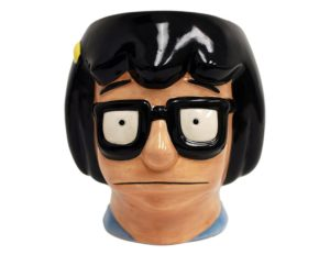 Bob's Burger Tina face sculpted mug