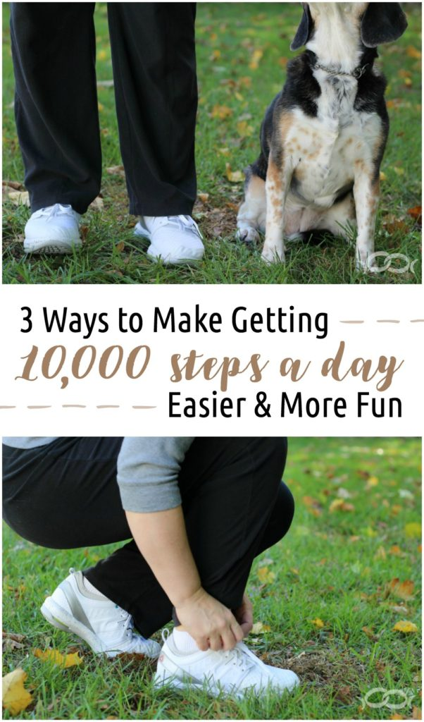 3 Ways to Make Getting 10000 Steps a Day Easier and More Fun #ReebokCloudRide #IC