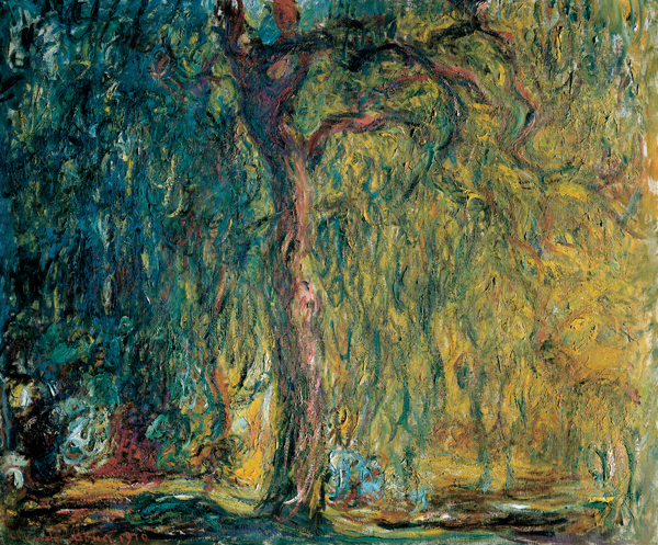 Claude Monet's Weeping Willow, 1918–1919