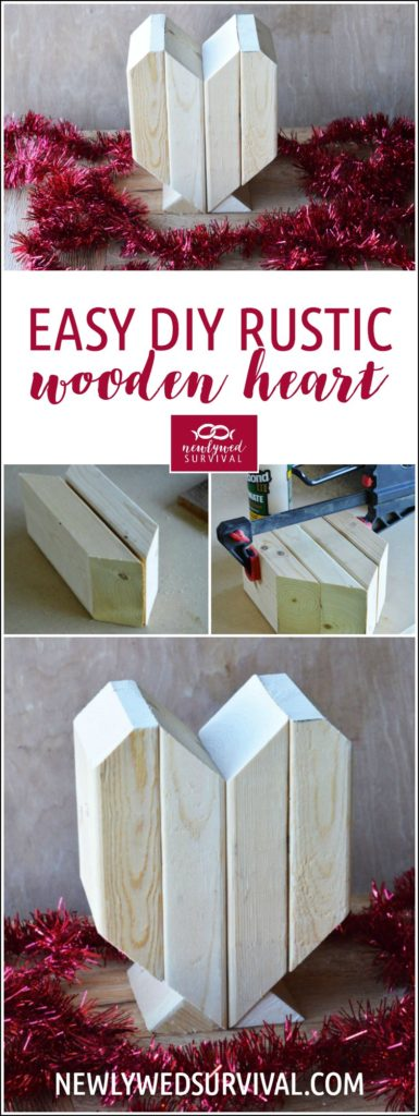 Easy Rustic Wooden Heart
