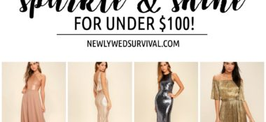 Sparkle with These New Year's Eve Dresses Under $100