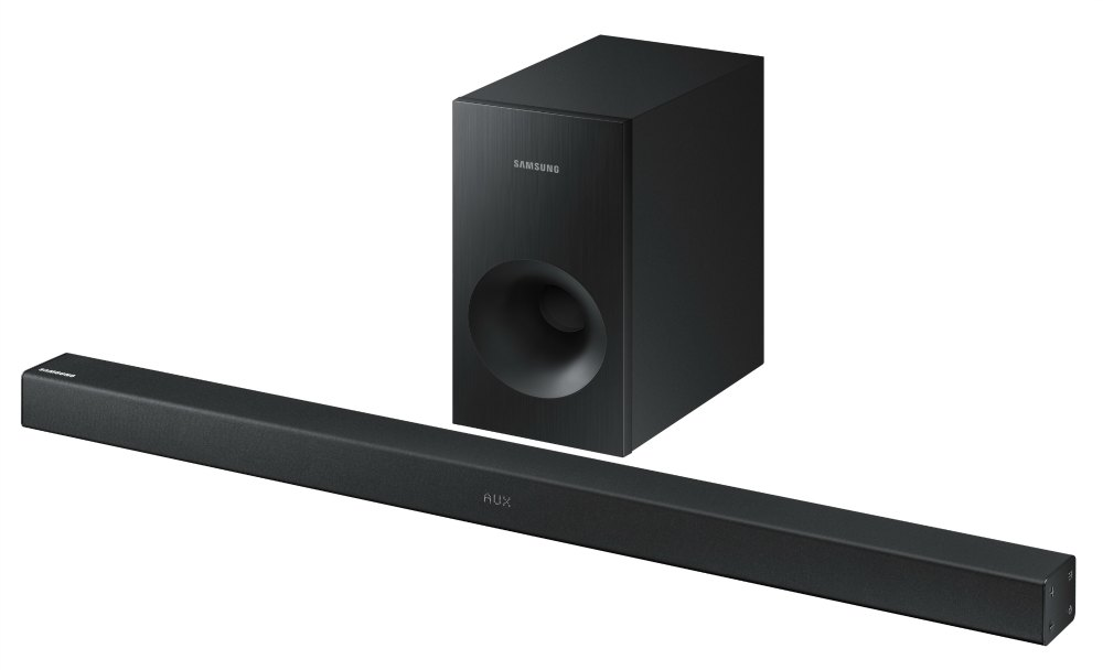 amsung Sound Bar 2.1ch 130W Wireless Subwoofer