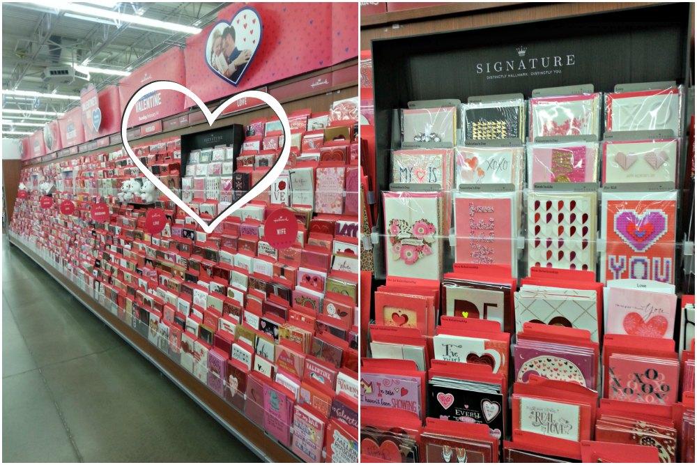 Hallmark aisle at Walmart #SendingYourLove