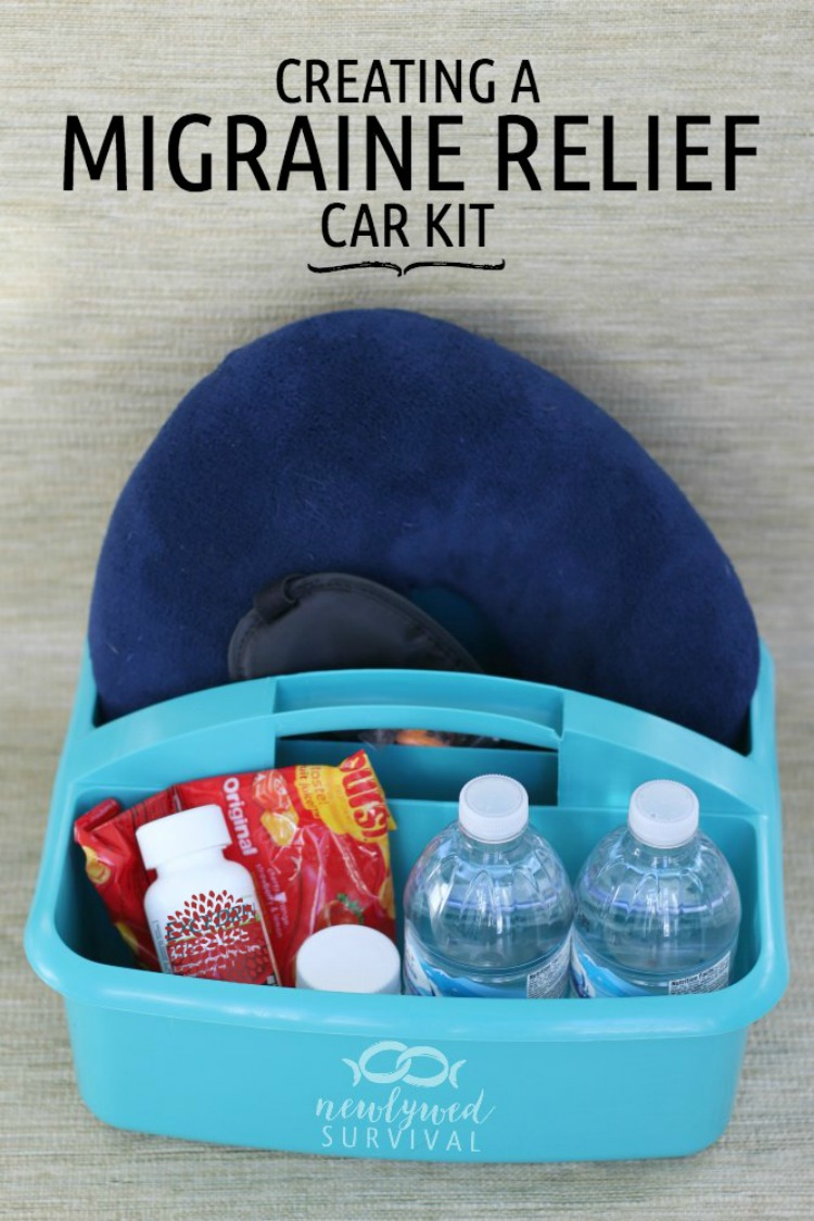 How to create a migraine relief car kit