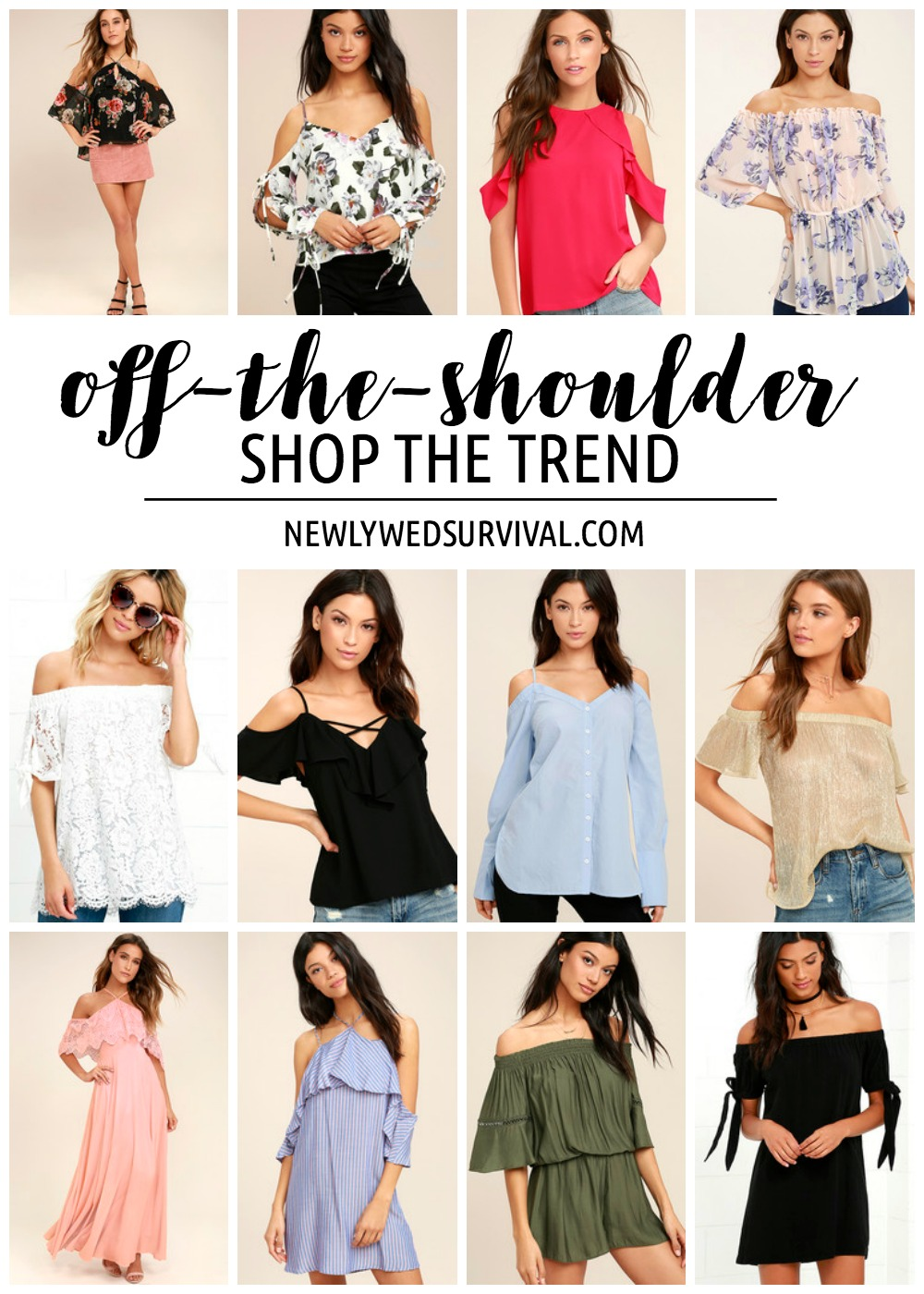 Shop the Trend: Off-the-Shoulder Pieces
