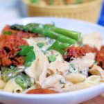 Chicken and Pancetta Penne for Two