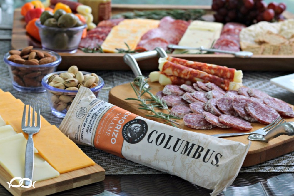 Columbus Craft Meats party spread