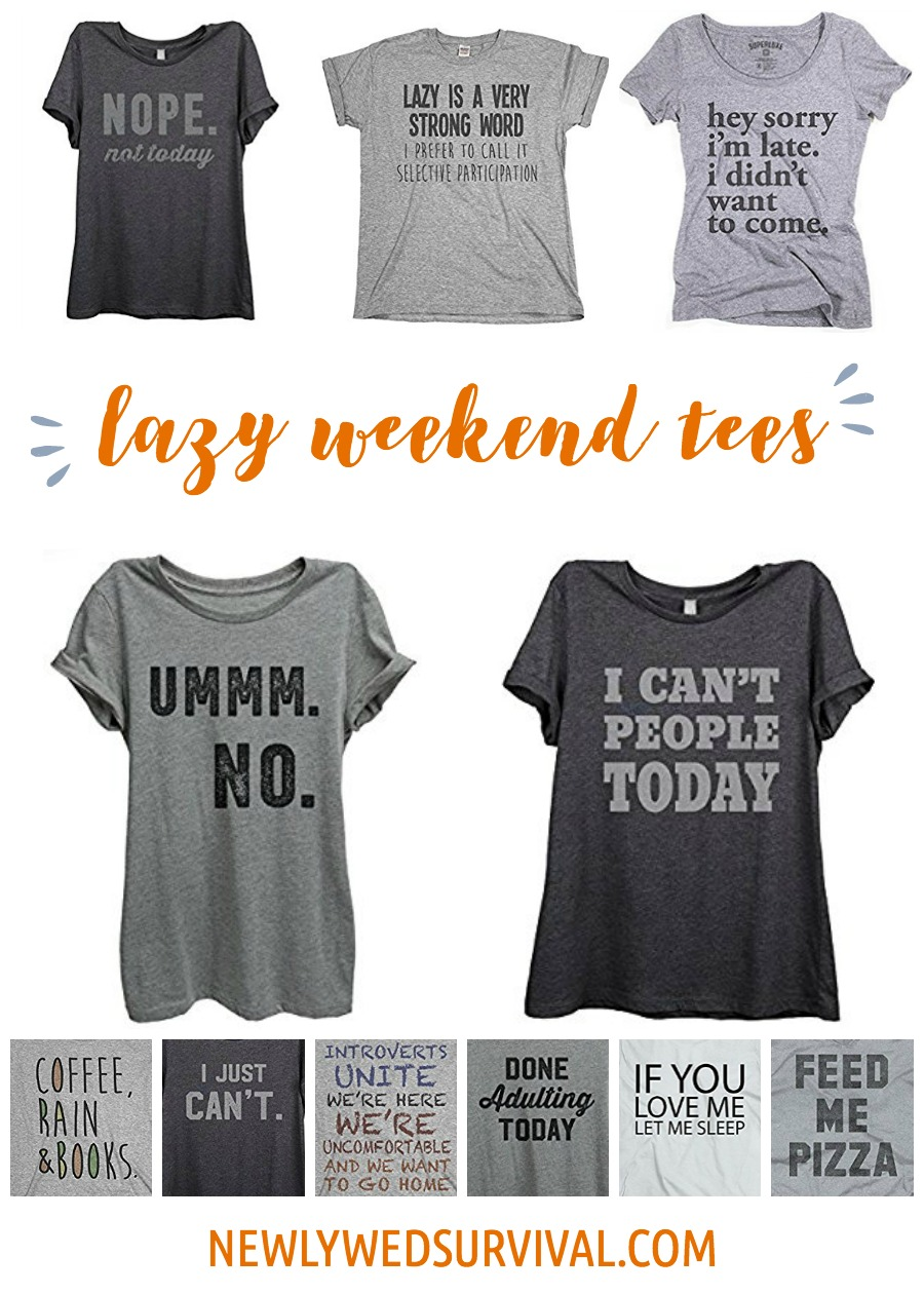 11 Comfy Tees Perfect for a Lazy Weekend on the Couch