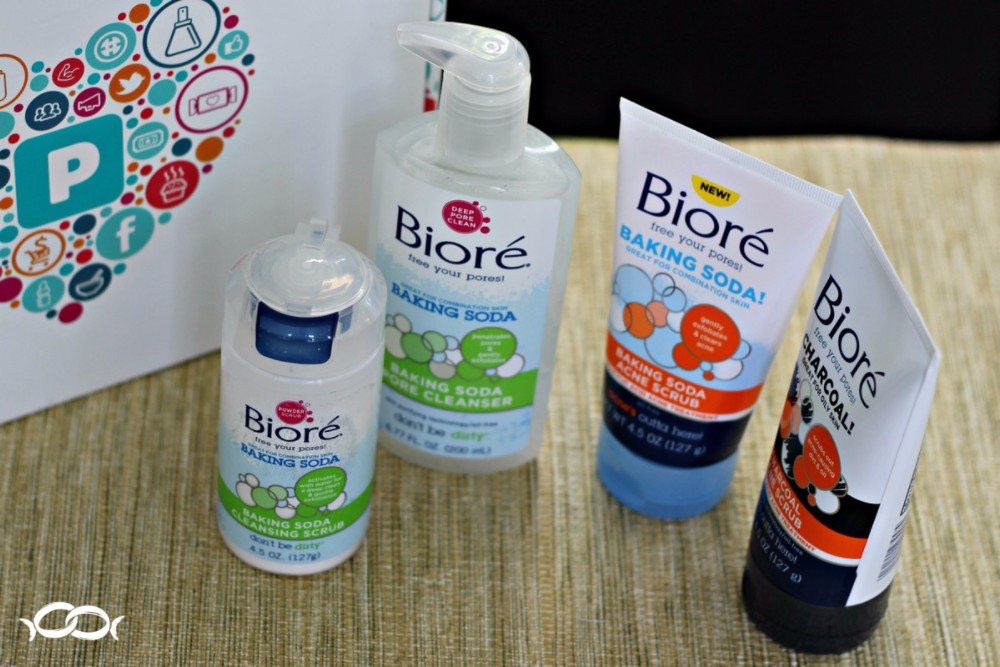 There were 4 full size products from Bioré in my PinchMe box!