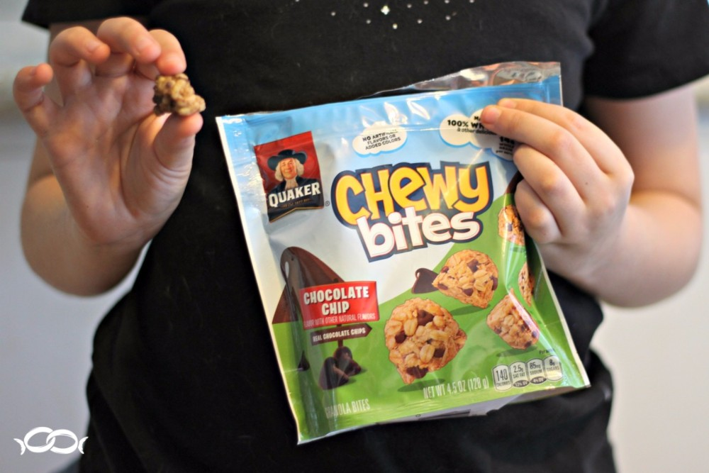 Both my niece and I loved the Quaker Chewy Bites from the PINCHme box