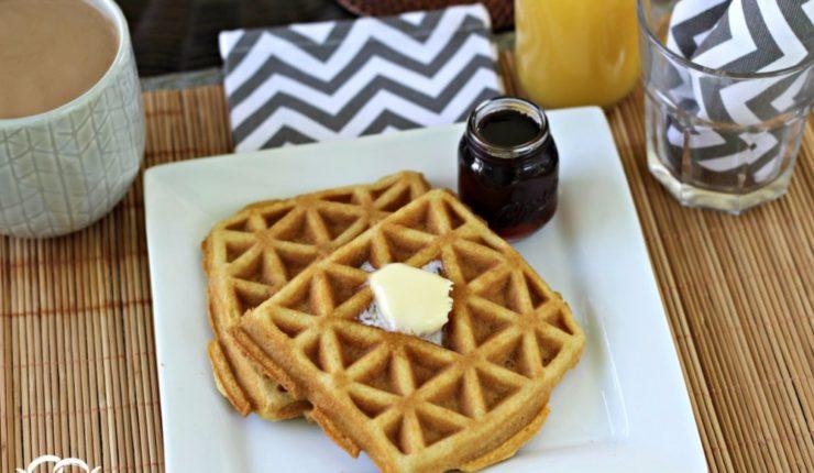 Crispy Grain-Free Waffle Recipe & Enjoying a Summer Morning