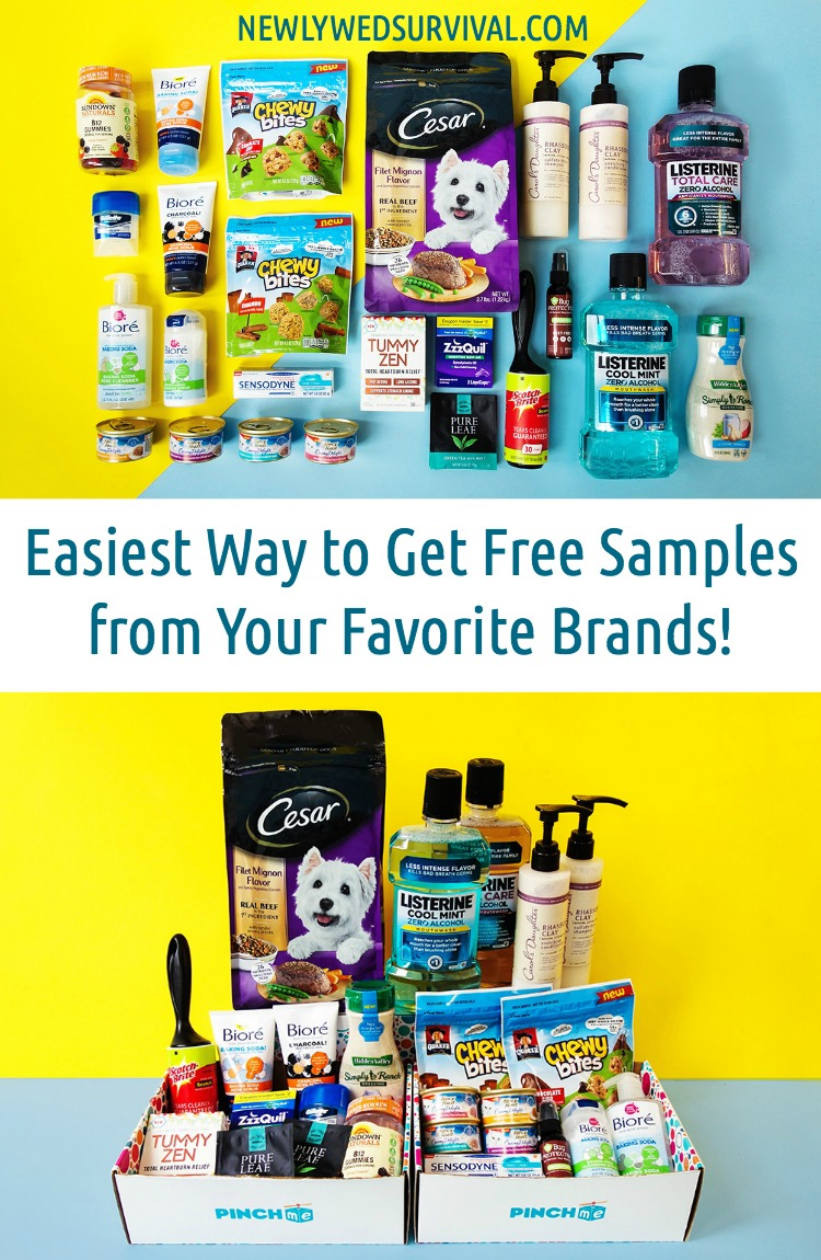 How to Get Free Samples from Your Favorite Brands with PINCHme